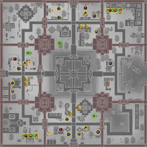 Карта Города Драконов (ГД)